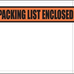 "4.5 x 5.5"" Packing List Envelopes - 3855"