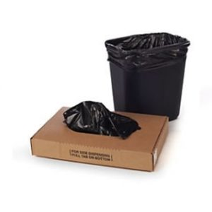 7 - 10 Gallon Black Trash Liner