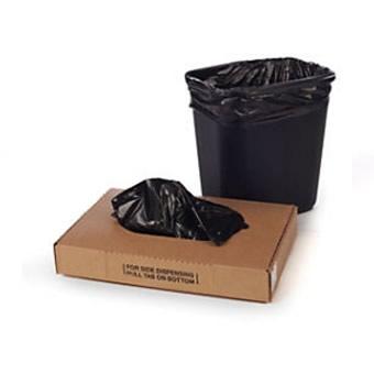 7 - 10 Gallon Black Trash Liner