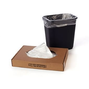 7 - 10 Gallon Clear Trash Liner